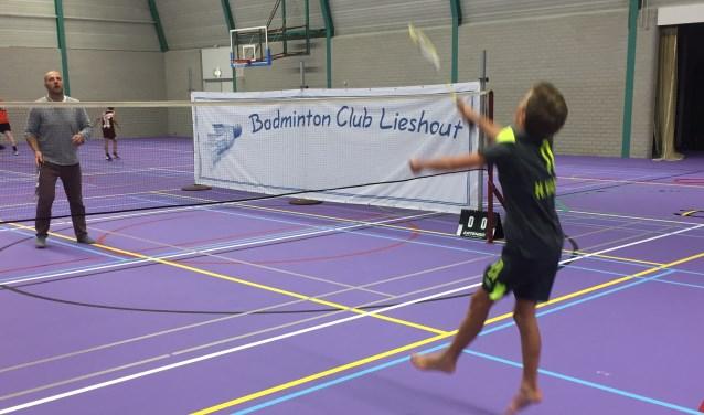 'Laarbeek Sportief' is een mooi evenement om eens kennis te komen maken met Badminton Club Lieshout    Fotonummer: 965be1