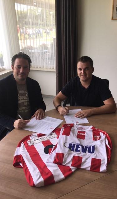 Mark Nooijen (l) en Joey van den Heuvel (r)  | Fotonummer: 61e1e6