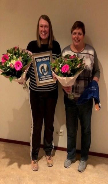 De jubilarissen: Stefanie Martens en Wendy Vlamings    Fotonummer: e30266