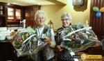 Vrijwilligerspenning Laarbeek voor Gerda Spek en Trees van Rooi