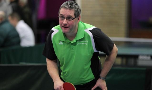 Guido Graat, speler van het 3e team van TTV Een en Twintig   | Fotonummer: 976c13