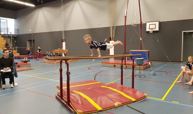Jace Raaijmakers in actie tijdens de clubkampioenschappen   | Fotonummer: 814a22