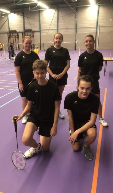 BCL-U17 met Joelle Timmers, Imke Wassenberg, Ainara Vandegard, Stijn Brouwers en Tim Kanters  | Fotonummer: 8e7d51