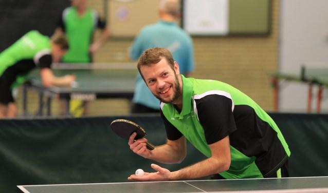 Chris Klingsporn, team 6, won van zijn ongeslagen tegenstander   | Fotonummer: 89f6d1