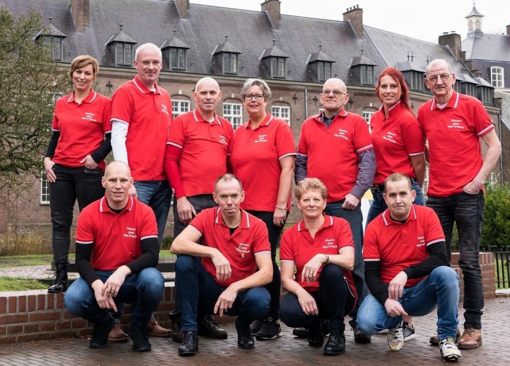 Team 'Gimmert goes Alpe d'HuZes'  © deMooiLaarbeekkrant