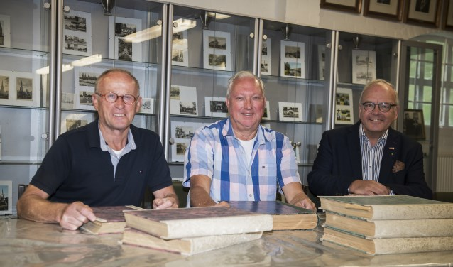 Vlnr: Jan Dekkers, Guido Klessens en Louis Doomernik     Fotonummer: d78473