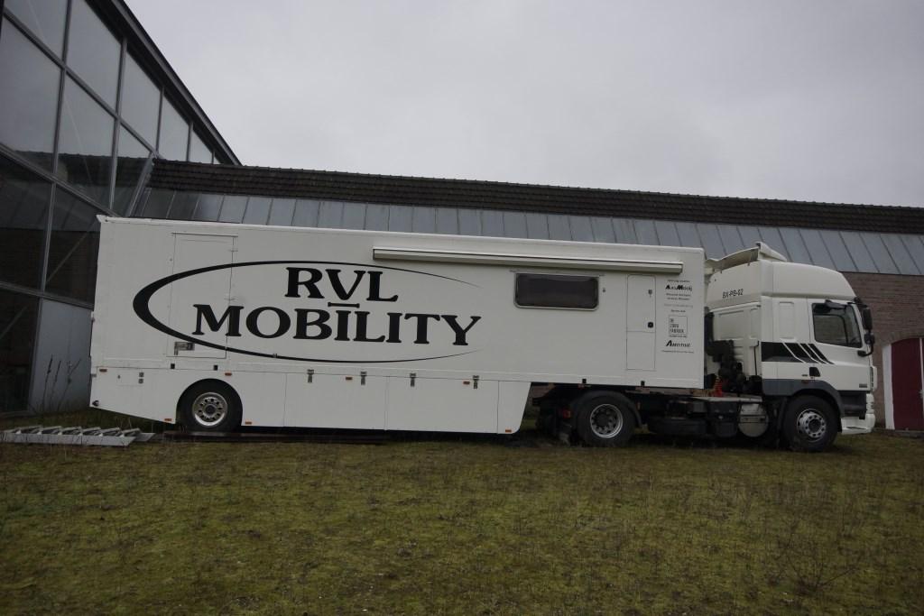 De service vrachtwagen  © deMooiLaarbeekkrant