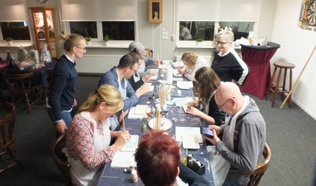 De workshop bij HBV De Eendracht  | Fotonummer: d77436