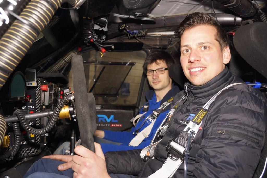 Ronald van Loon (r) en Erik Lemmen  © deMooiLaarbeekkrant