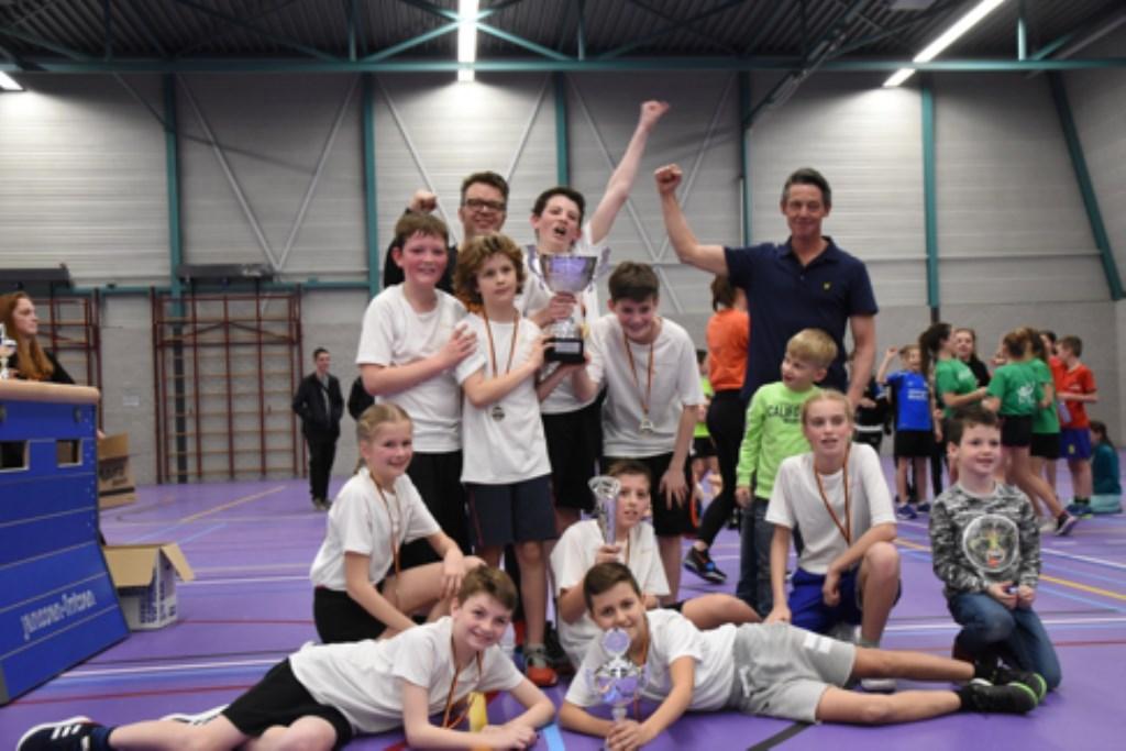 Winnaars groep 7/8  © deMooiLaarbeekkrant