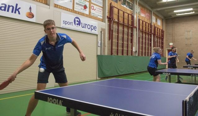 Werner Doensen, één van de spelers van het kampioensteam    Fotonummer: d1c903