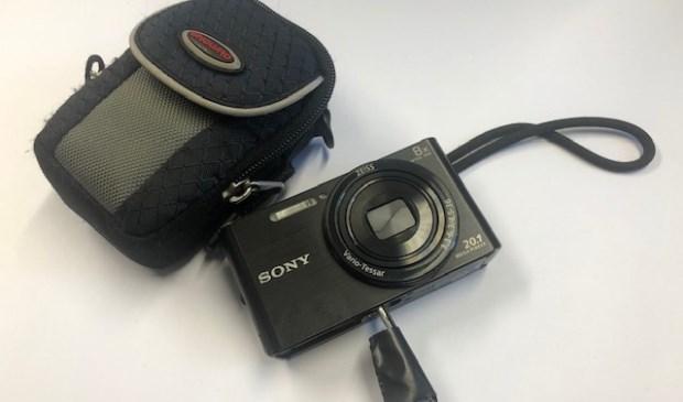 Sony Camera met beschermtasje van Vanguard  | Fotonummer: 1adf17