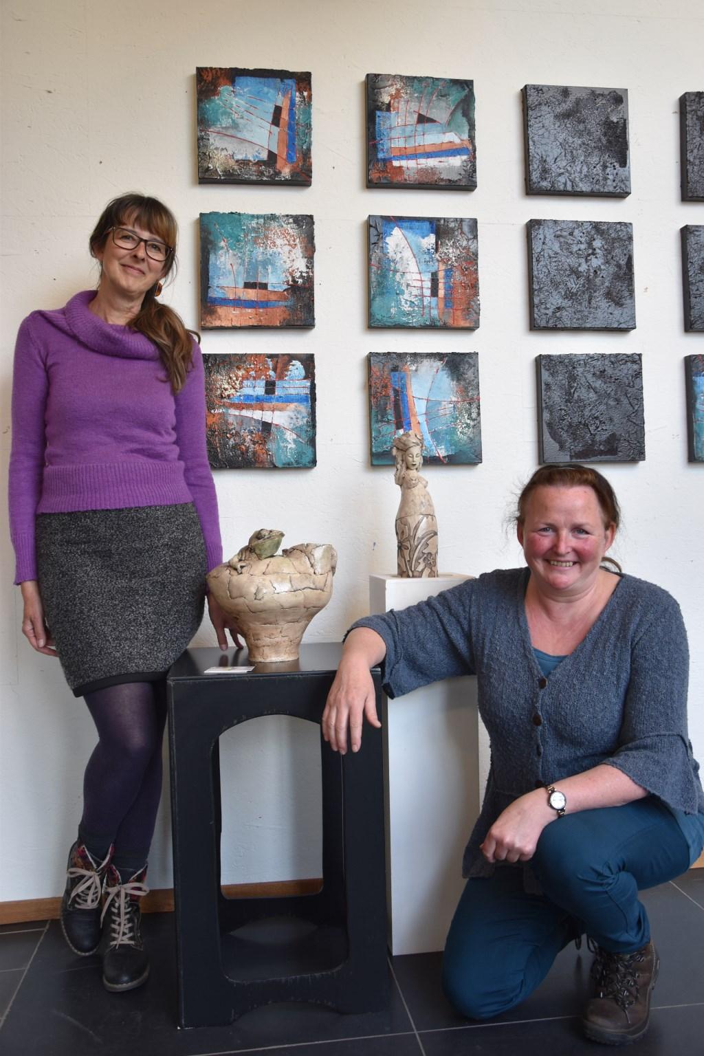 Petra Verlangen en Helmie Segboer Foto: Marie-Christine van Lieshout © deMooiLaarbeekkrant