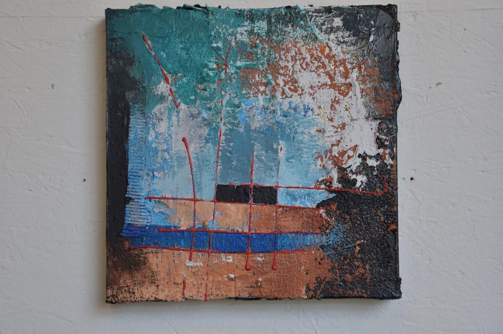 Werk van Helmie Segboer Foto: Marie-Christine van Lieshout © deMooiLaarbeekkrant