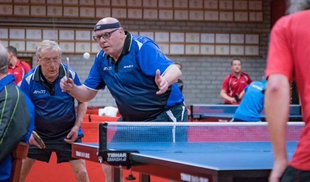 Albert Scheepers (l) en Henk van der Bruggen     Fotonummer: bd7711