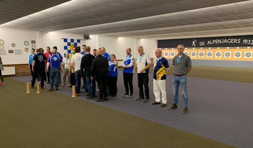 Erwin Wijnhoven (rechts) eindigde op de tweede plaats   | Fotonummer: 25fb6c