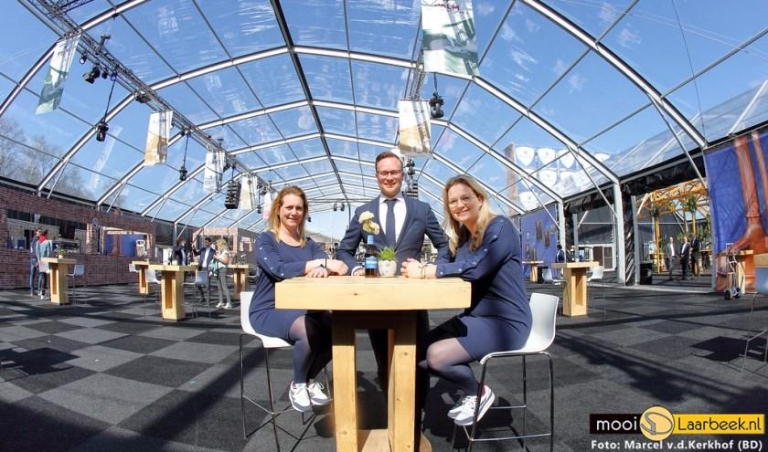 Vlnr: Marjan, Tim en Anja   | Fotonummer: e6301b