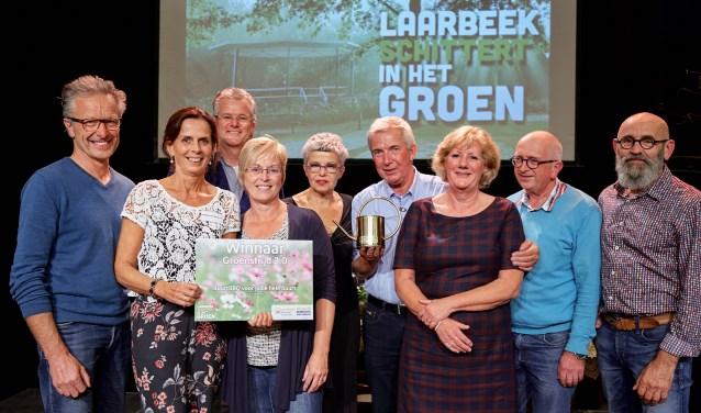 De winnaars van de Groenstrijd 2.0: Heesweg uit Beek en Donk   | Fotonummer: 2ca1a1