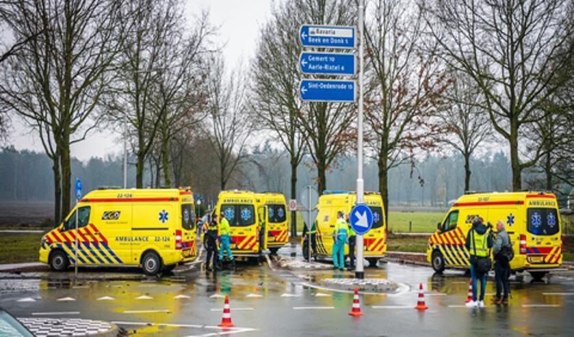 Op de kruising N615/Deense Hoek gebeuren regelmatig ongelukken   | Fotonummer: 0c65ed