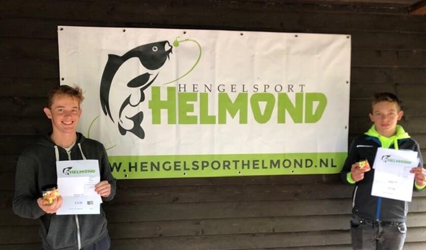 Het winnende koppel: Joran Janssen en Rowald de Groot      Fotonummer: ffe1cd