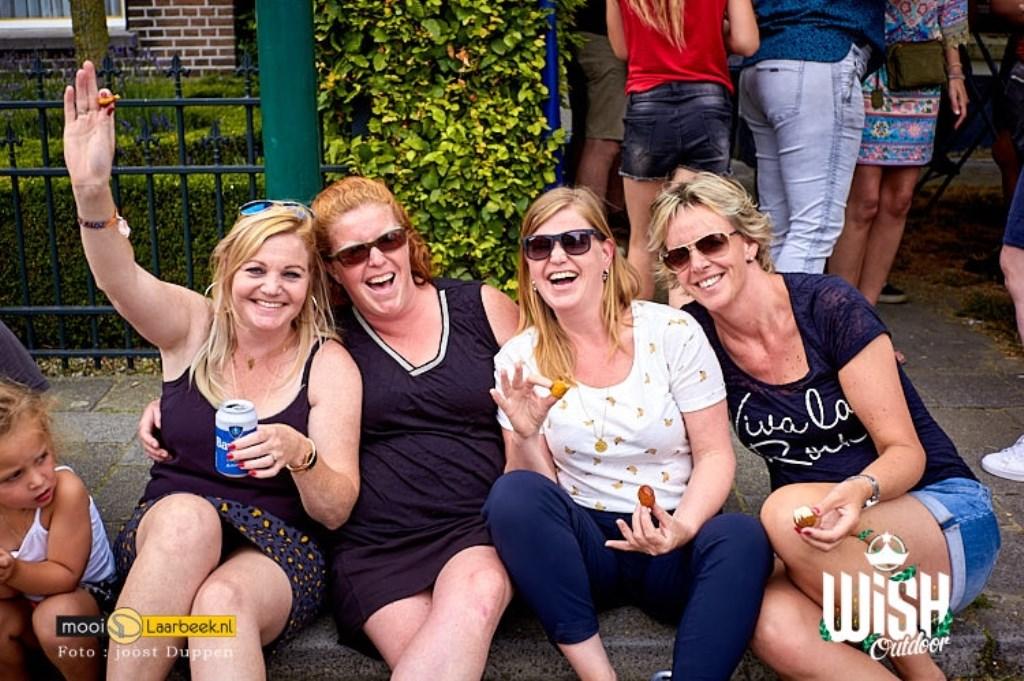WiSH outdoor 2019 buurtbewoners en achter de schermen Foto: Joost Duppen  © deMooiLaarbeekkrant