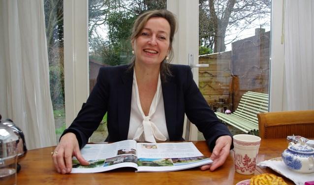 Monique de Ruiter wil het 'vrolijke vakantiegevoel' doorgeven aan anderen. | Foto Willemien Timmers