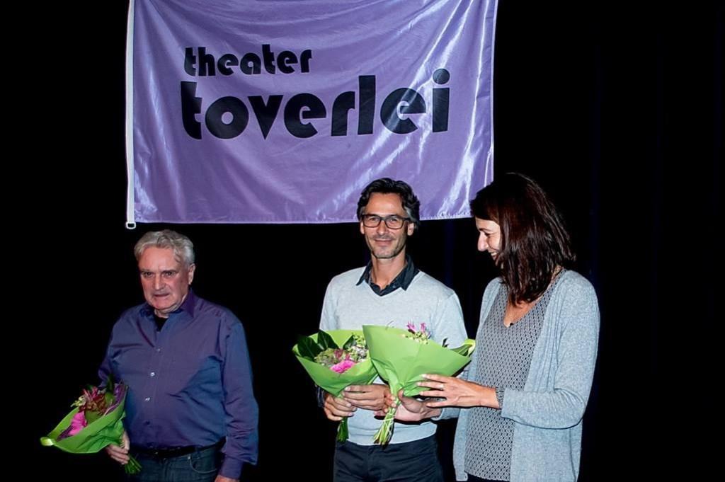 De vakjury, v.l.n.r. Hans van Hechten, Norman van Huut en Martine de Moor. Foto: Johan Kranenburg © uitgeverij Verhagen