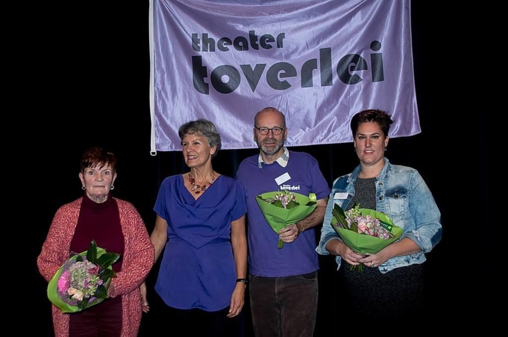 De organisatoren van het Toverbal Festival. Foto: Johan Kranenburg © uitgeverij Verhagen