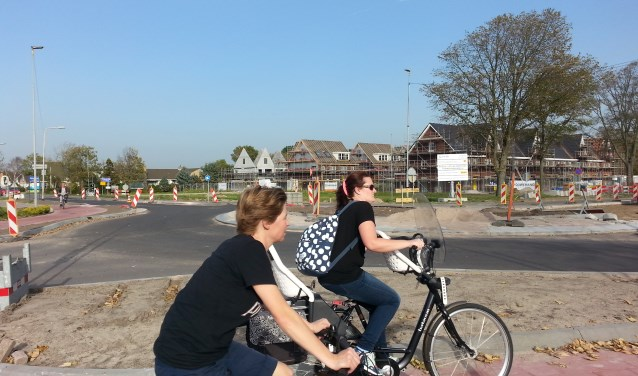 Metamorfose van de noord entree van Rijnsburg. | Foto: CvdS.
