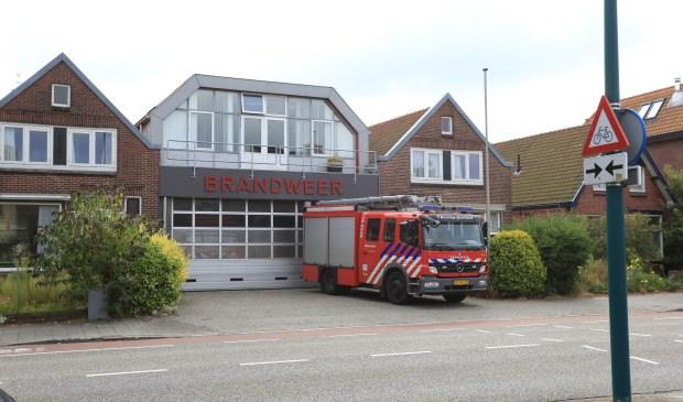Het brandweercomplex aan de Dorpsstraat. | Foto Wil van Elk