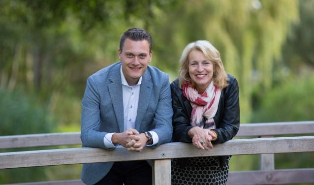 Adger van Helden met Irene van der Plas als zijn running mate.