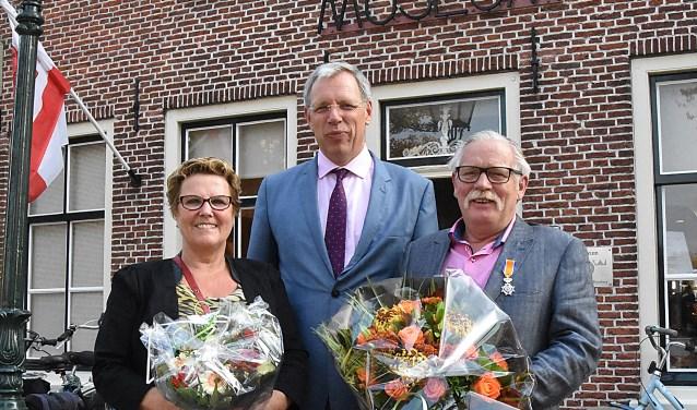 Wim de Beer Lid in de Orde van Oranje-Nassau. | Foto: PvK.