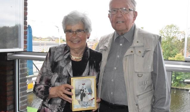 Wim en Nellie van der Plaat al 60 jaar getrouwd.