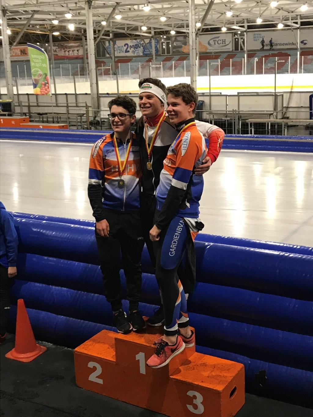 Matthijs Jansen van de VIJL werd 2e bij de jongens junioren B. Foto: PR © uitgeverij Verhagen