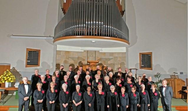 Het Rijnsburgse koor Laudamus.