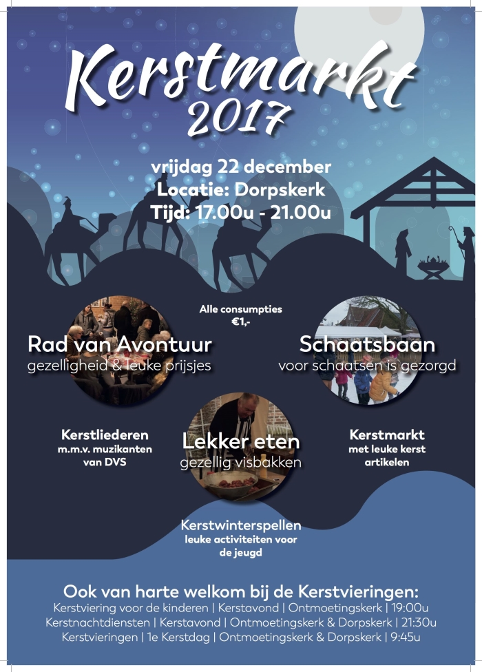 Activiteit Kerstmarkt Winterfair Kerkplein Dorpskerk Alles Over
