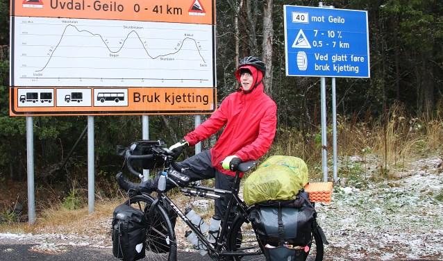 Matthijs Kralt is een mooie fiets ervaring rijker. Voorjaar 2018 volgt het andere traject.