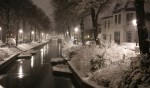 Kerstwandeling door centrum van Rijnsburg