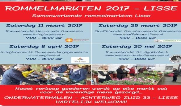 rommelmarkt agenda zuid holland