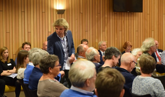 Leendert Beekman ontmoette weinig enthousiasme. | Foto: Esther Luijk