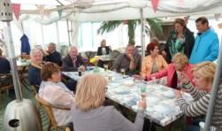 Zaterdag 13 mei nemen 500 bridgers het Katwijkse strand over. | Foto: pr