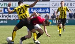 Arno Dijkstra komt niet zomaar langs Masies Artien. | Foto: Karel van der Luijt