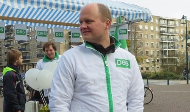 Elfred Bus wordt lijsttrekker van D66 Oegstgeest. | Foto PR