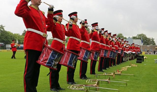 Flora Band tijdens hun try-out | Foto: R. IJsselmuiden