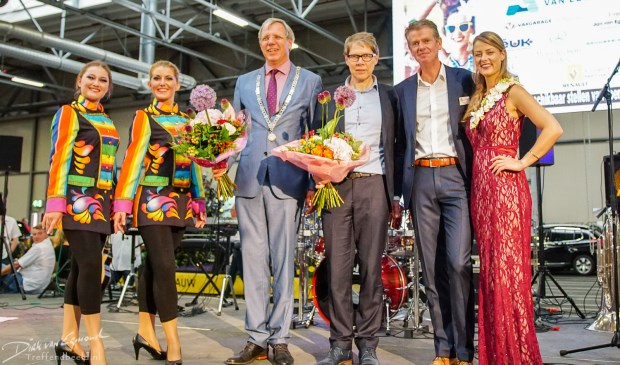 Officiele opening Flower Parade 2017.