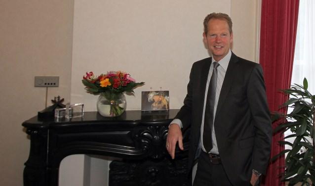 Burgemeester Arie van Erk.   Foto: Martin van Rooden
