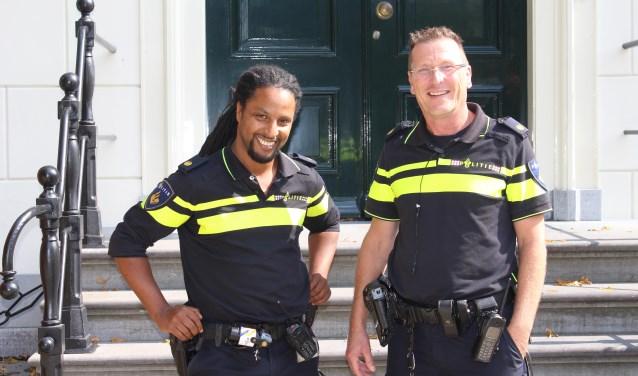 Mourad Kassi (l) en Marco Giesbergen. | Foto: Annemiek Cornelissen