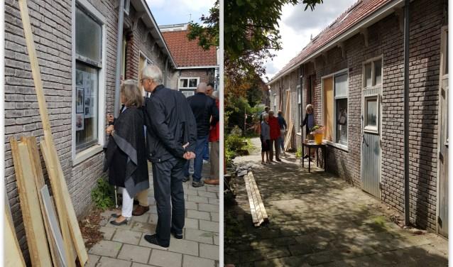 Het Hofje van Six mocht zich verheugen in veel belangstelling tijdens Open Monumentendag.