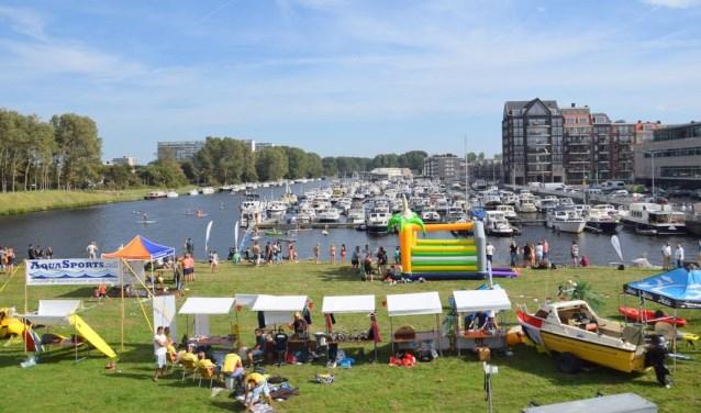 De eerste editie van de Watersportdag was vorig jaar een groot succes.