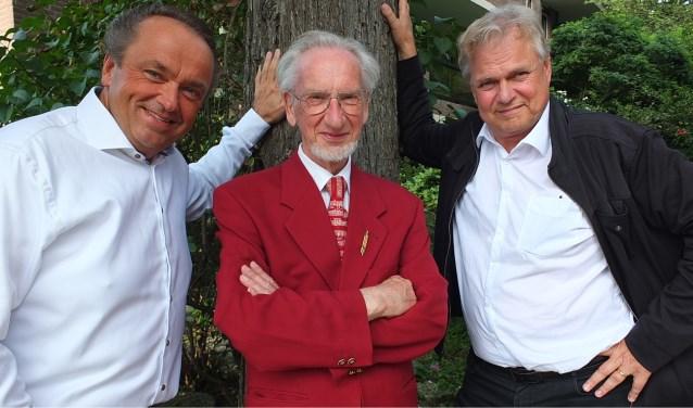 Martin Mans, Sander van Marion en André Knevel. | Foto: pr